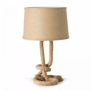 Sea Rope Twist Table Lamp | by Black Mango