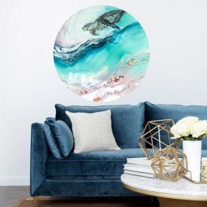 Sea Turtle 2.0   Hawaiian Seascape   Perspex-Acrylic Artwork by Antuanelle