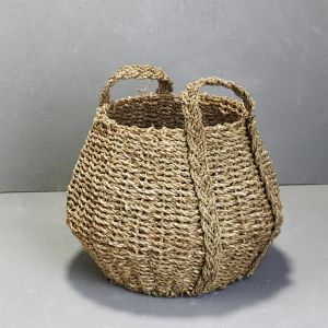 *Seagrass Angular Basket with Handles - delivery Oct/Nov 2019