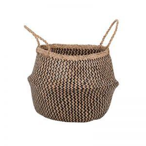 Seagrass Belly Basket | Zig Zag