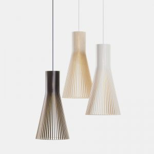 Secto Suspension Lamp Wooden Timber Pendant Light Replica   PRE-ORDER