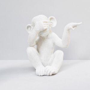 See No Monkey | White