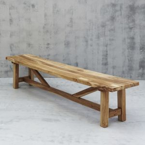 Sefer Rustic Bench Seat l Custom Made