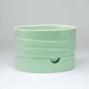 Self Watering Plant Pot Mid Sage Green