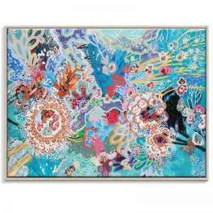 Selva Submarina | Lia Porto | Framed Canvas Print | SALE