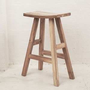 *Sena Rustic Finish Bar Stool - delivery Oct/Nov 2019