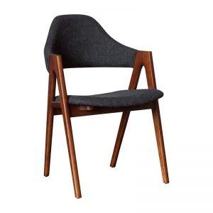 Sergio Dining Chair | Walnut | Black