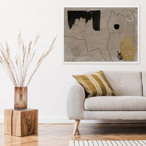 Set in Stone III | Canvas Art Print