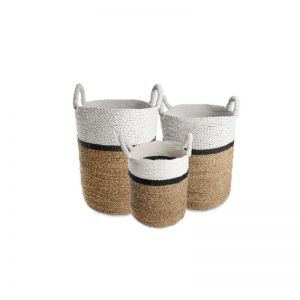 Set of 3 Byron Laundry Baskets | Thin Stripe | OMG I WOULD LIKE