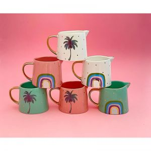 Set of 3 Mini Rainbow Jugs