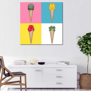 Set Of 4 | Canvas Print