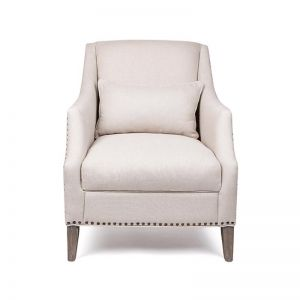 Seville Armchair | Cream