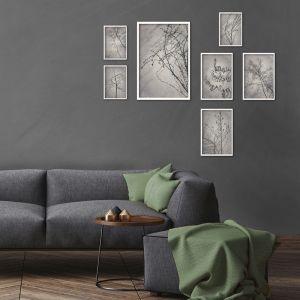 Shadowplay Gallery Wall   Set of 7 Art prints   Unframed