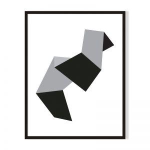 Shape 1 | Framed Print | Artefocus