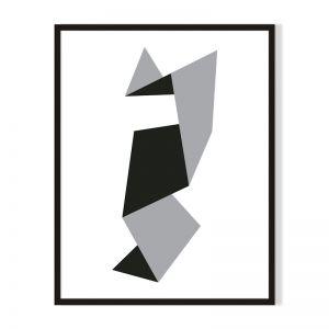 Shape 2 | Framed Print | Artefocus
