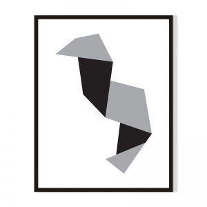 Shape 3 | Framed Print | Artefocus