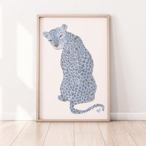 Sharma The Leopard | Blue