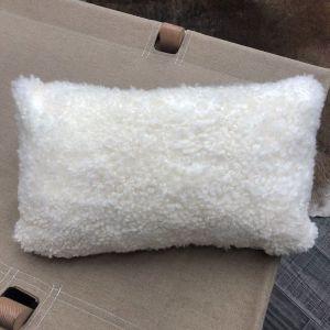 Shearling Lumbar Cushions