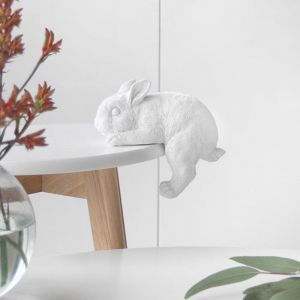 Shelf Bunny | White | White Moose