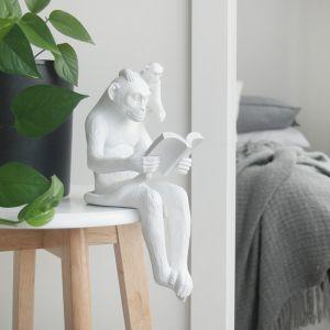 Shelf Monkey | White | White Moose