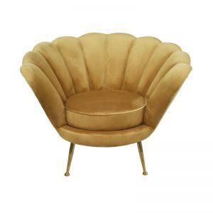 Shell Chair | Velvet | Honeycomb