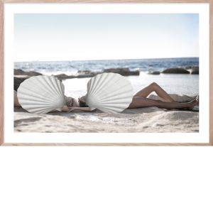 Shell Life #2 | Framed Giclee Art Print by Wall Style