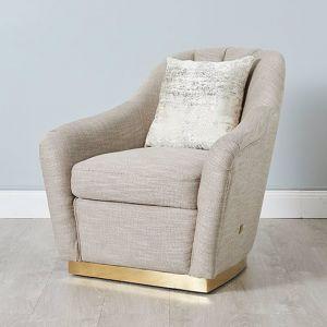 Sheppard Chair   Fabric   Beige/Cream
