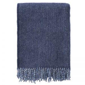 Shimmer Wool Blanket | Blue