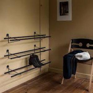 Shoe Rack | Dark Brass Mounting