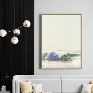 Shore Break | Drop Shadow Framed Wall Art