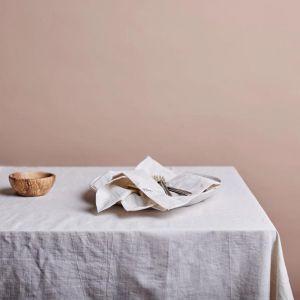 Shore Linen Tablecloth | Natural | 180 x 400cm