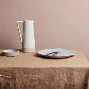 Shore Linen Tablecloth | Nutmeg | 180 x 400cm