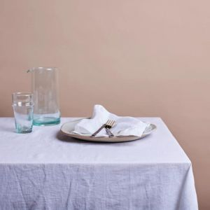 Shore Linen Tablecloth | White | 180 x 400cm