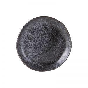 Side Plate   Earth   Black
