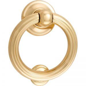 Siena Door Knocker | Polished Brass | Schots
