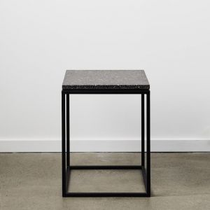 Siena | Terrazzo Side Table | Graphite