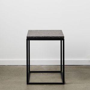 Siena | Terrazzo Side Table | Graphite