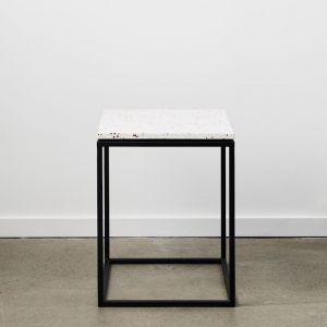 Siena | Terrazzo Side Table | Neutral