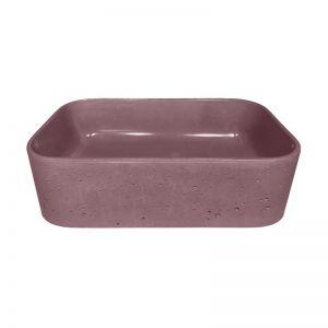 Sienna Powder Basin by DLH Designs | Merlot