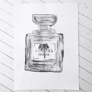 Signature Chanel Ink | Palm by Libby Watkins