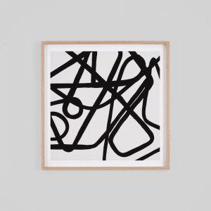 Sigrid Natural 2   Framed Art Print