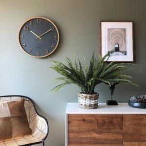 Silent Wall Clock | Scarlett | Charcoal Grey by One Six Eight London