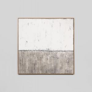 Silver Coast Grey | Large | Framed Canvas