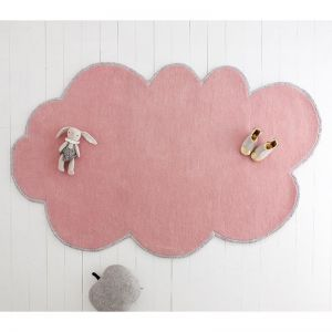Silver Lining Cloud Rug | Blossom Pink