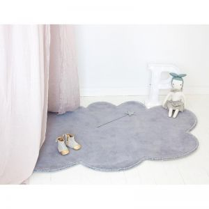 Silver Lining Cloud Rug | Cloudy Grey