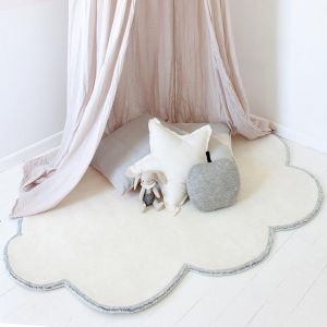 Silver Lining Cloud Rug | Vanilla Cream