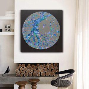Silver Moon | Original Painting by Sherren Comensoli