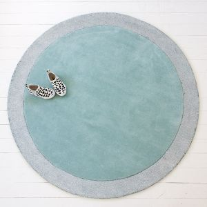 Silver Moon Rug | Icy Blue