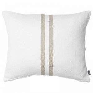 Simpatico Cushion | White/Natural