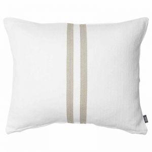 Simpatico Cushion | White/Natural - Preorder
